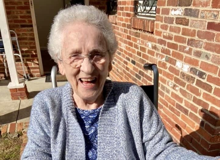 Memory care resident in Bethesda, Maryland